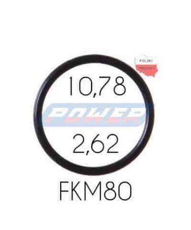 Oring 10,78 na 2,62 FKM wykonany z FKM