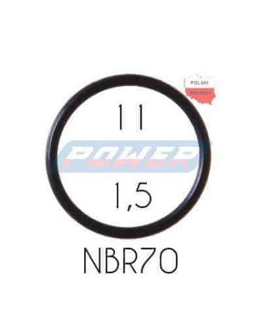 Oring 11 na 1,5 NBR wykonany z NBR