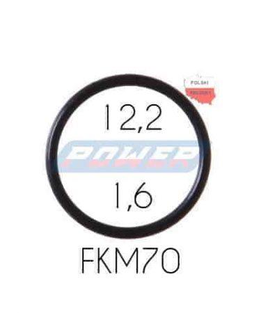 Oring 12,2 na 1,6 FKM wykonany z FKM