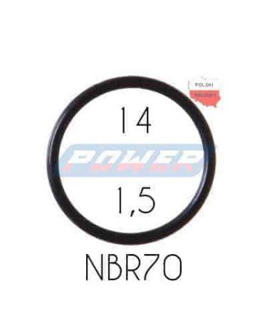 Oring 14 na 1,5 NBR wykonany z NBR