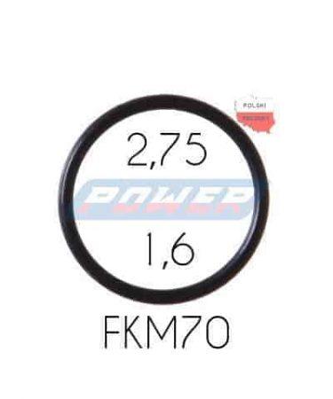 Oring 2,75 na 1,6 FKM wykonany z FKM
