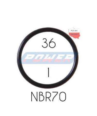 Oring 36 na 1 NBR wykonany z NBR
