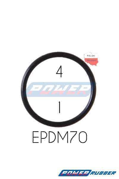 Oring 4 na 1 EPDM wykonany z EPDM