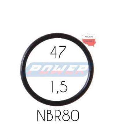 Oring 47 na 1,5 NBR wykonany z NBR