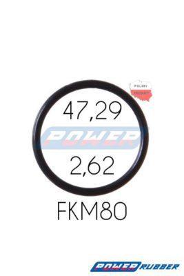 Oring 47,29 na 2,62 FKM wykonany z FKM