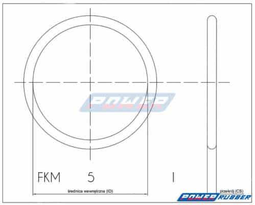 Jak-wymiarować-Oring 5x1 FKM
