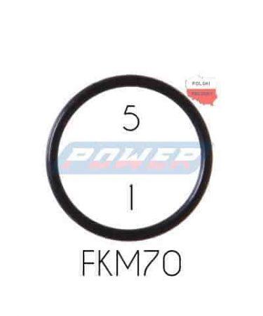Oring 5 na 1 FKM wykonany z FKM