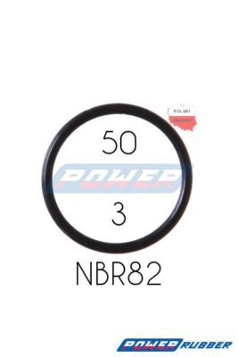 Oring 50 na 3 NBR wykonany z NBR