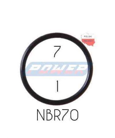 Oring 7 na 1 NBR wykonany z NBR