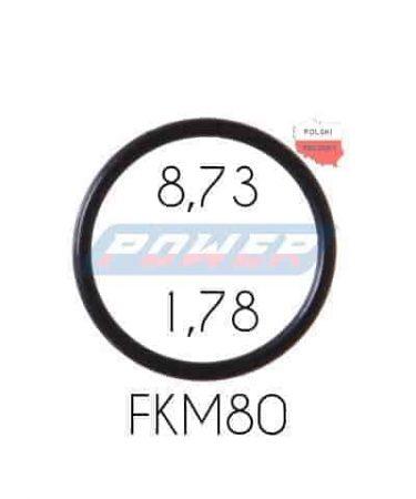 Oring 8,73 na 1,78 FKM wykonany z FKM