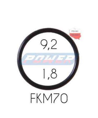 Oring 9,2 na 1,8 FKM wykonany z FKM