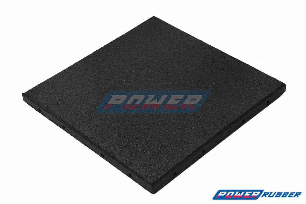 Rubber granulated floor
