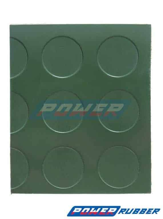 Rubber Lining in Green Coins