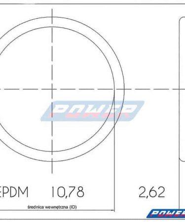 oring gumowy 10,78 na 2,62 EPDM