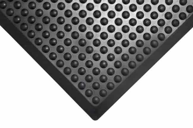 mata bubble mat czarna odporna