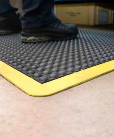 Rubber matting for kitchen floors