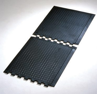 gumowa mata czarna puzzle