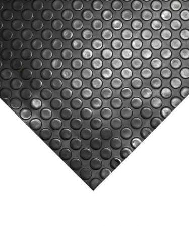 mata z rolki czarna w monety