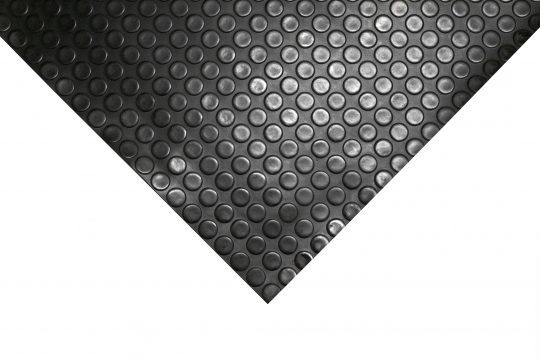black roll mat in coins