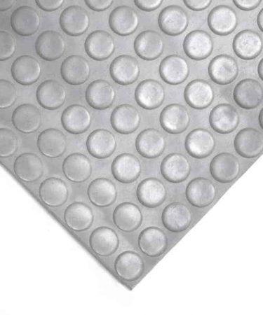 mata gumowa szara w monety