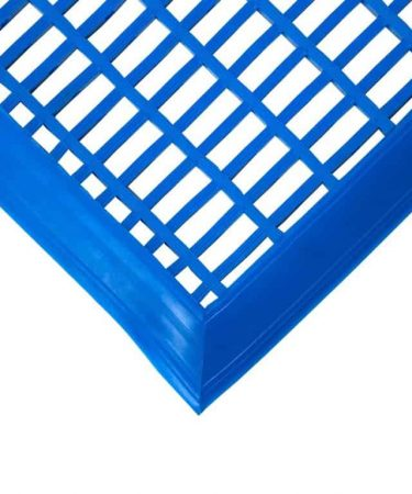 mata basenowa niebieska pcv