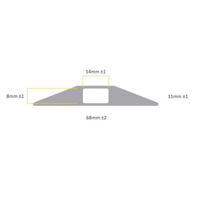 oslona na kable gumowa power pro wymiary