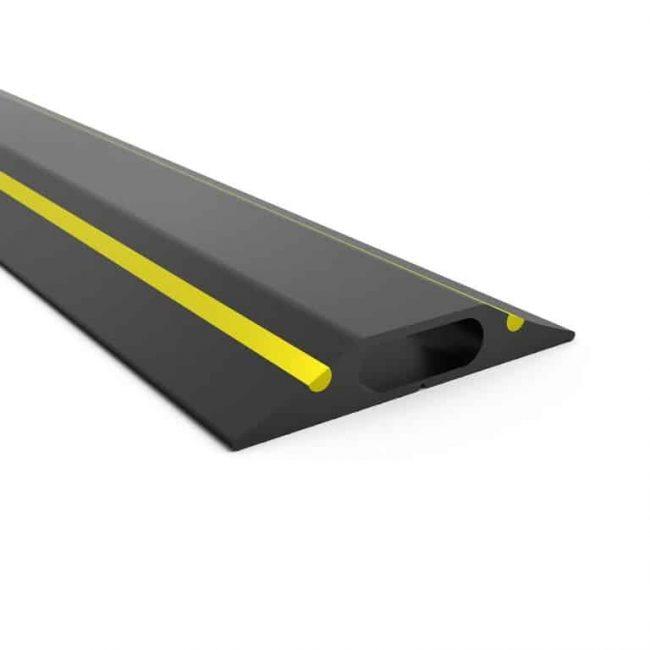 oslona na kable gumowa power pro+ żółty